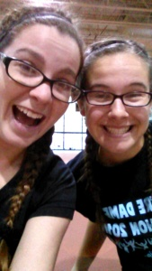 volleyball tournament with sarah